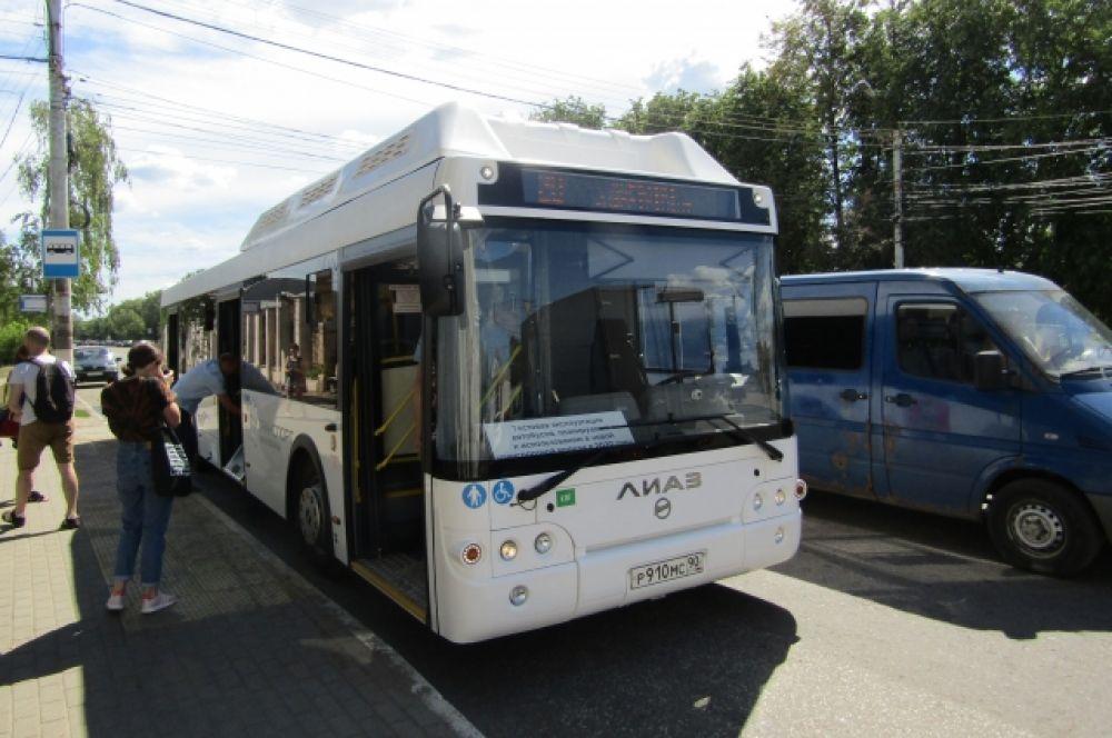 Новые автобусы вышли на тестовые рейсы по Твери.