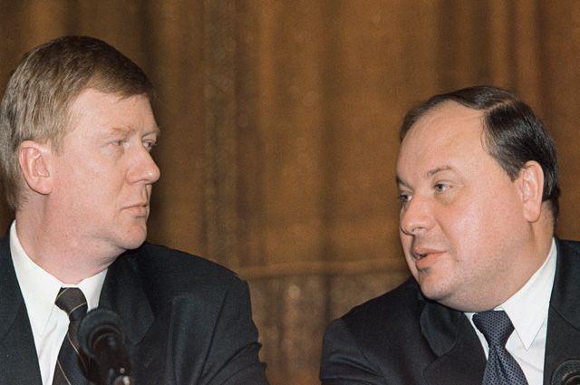 Анатолий Чубайс и Егор Гайдар.