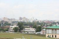 Барнаул с Нагорного парка