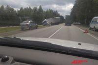 ДТП произошло в Большесосновском районе.