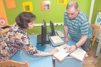 Заведующая Оксана Сергеевна всегда поможет с выбором книги.