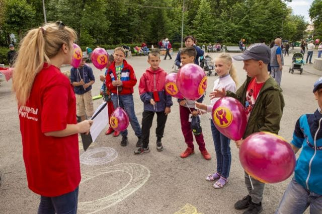 Для маленьких гостей сотрудники редакции и партнеры мероприятия провели множество увлекательных конкурсов.