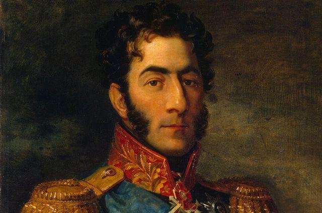 Портрет Петра Ивановича Багратиона работы Джорджа Доу.