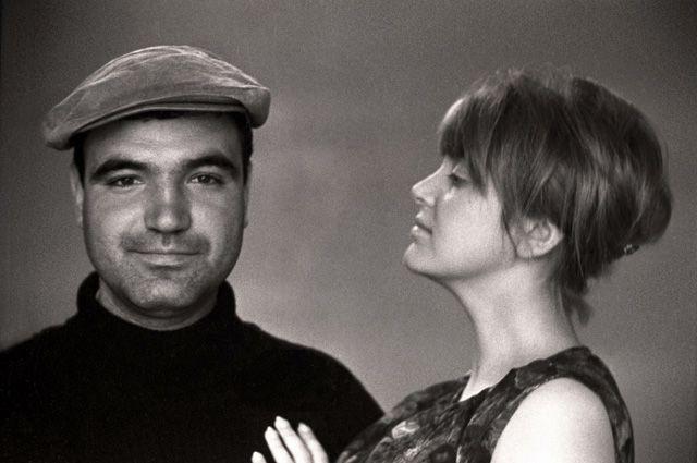 Инна Гулая и Геннадий Шпаликов.