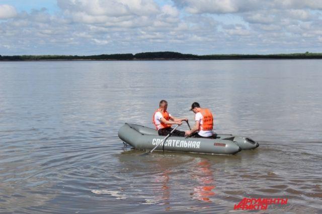 Спасатели обследовали 400 квадратных метров акватории Енисея