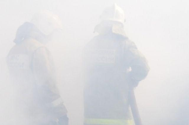 45 спасателей принимали участие в тушении пожара.