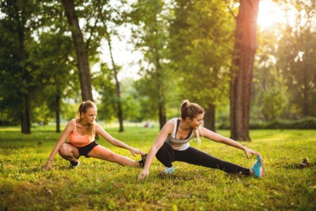 Дача – это идеальный вариант летней площадки для ваших тренировок.