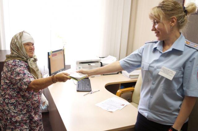Раиса Назарова впервые получила паспорт в 72 года.