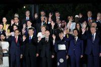 Мировые лидеры на саммите G20.