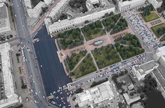 Так площадь выглядит сейчас.