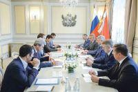 Александр Гусев и Александр Ведяхин обсудили вопросы цифровизации и внедрения инновационных  программных продуктов в регионе.