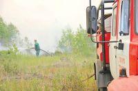 Несмотря на быстрое распространение огня, удалось защитить населённые пункты.
