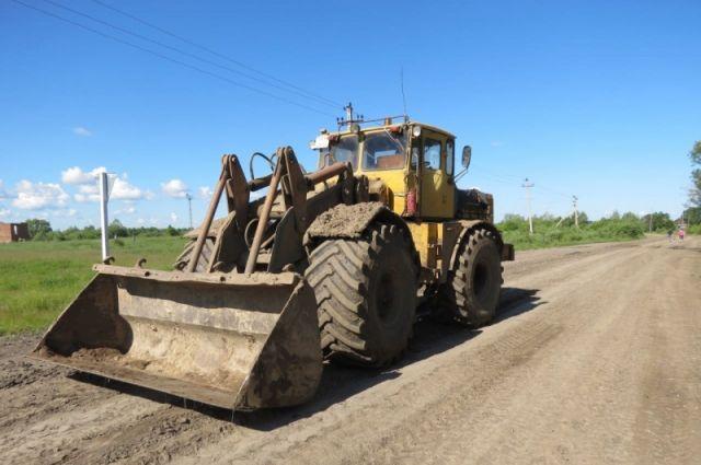 Омич угнал трактор «К-700», чтобы доехать до дома
