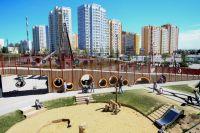 Такая зона отдыха появилась в жилом комплексе «Бунинские луга» в ТиНАО.