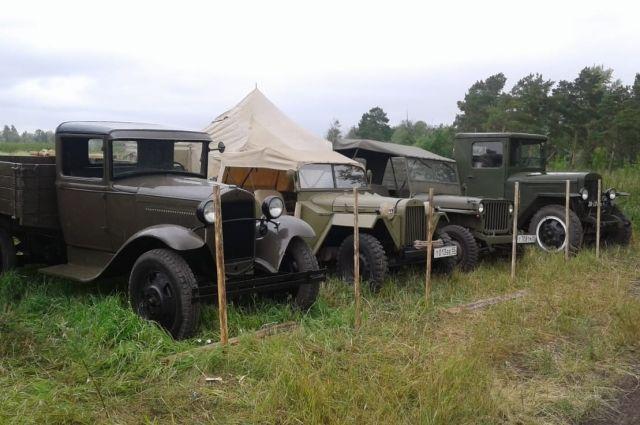 В коллекции есть уникальные автомобили времён Великой Отечественной войны.