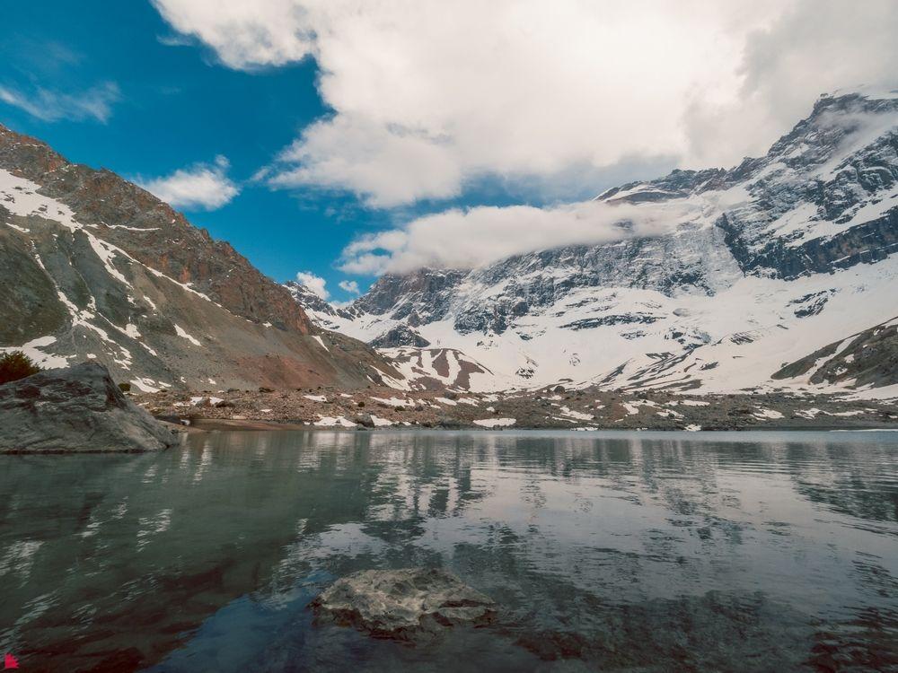 Озеро Дюшаха. Таджикистан
