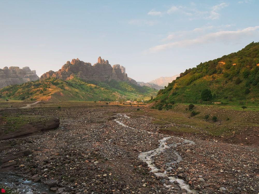 Чилдухтарон. Таджикистан