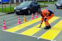 140 км ивановских дорог покроют жёлтой разметкой.
