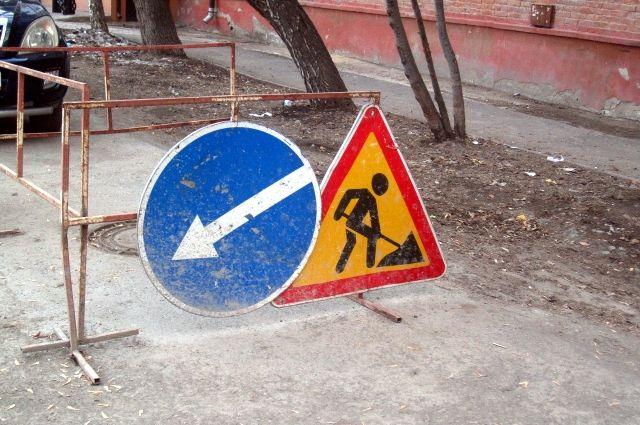 В Надыме полным ходом идет ремонт дорожный ремонт
