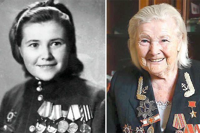 С годами Екатерина Илларионовна сохранила лучистые глаза и улыбку Катюши.