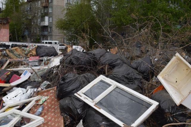 Тариф на мусор в Омске уменьшится в два раза