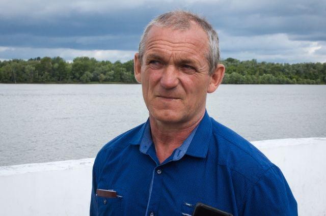 Омский рыбак спас тонущего в Иртыше ребёнка