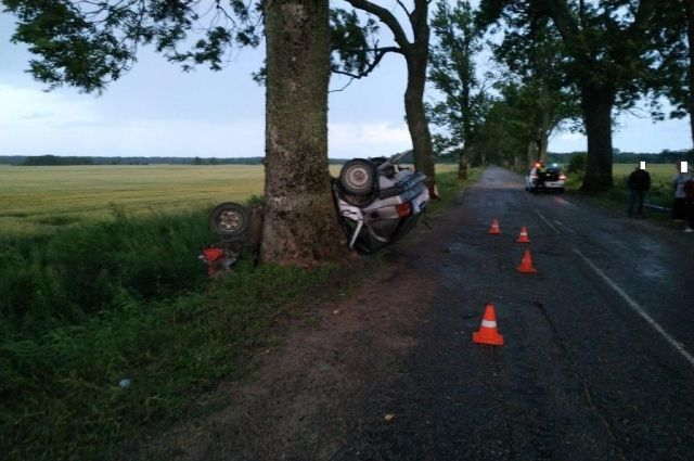 В Правдинском районе из-за превышения скорости погиб водитель