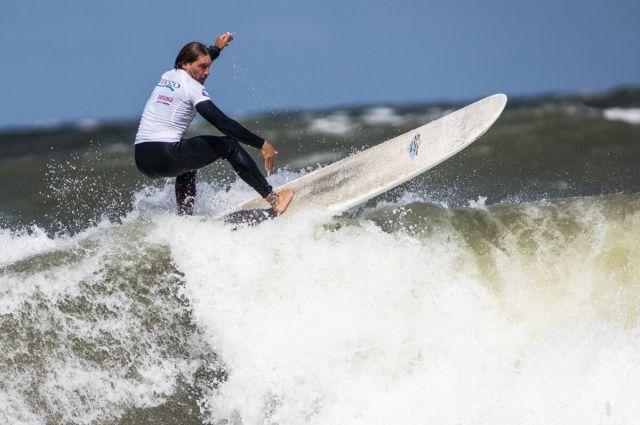Калининградский сёрфер выиграл чемпионат России в Зеленоградске