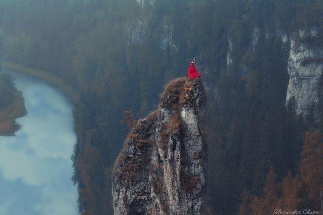Красивые снимки в социальных сетях опубликовал фотограф Александр Чазов.