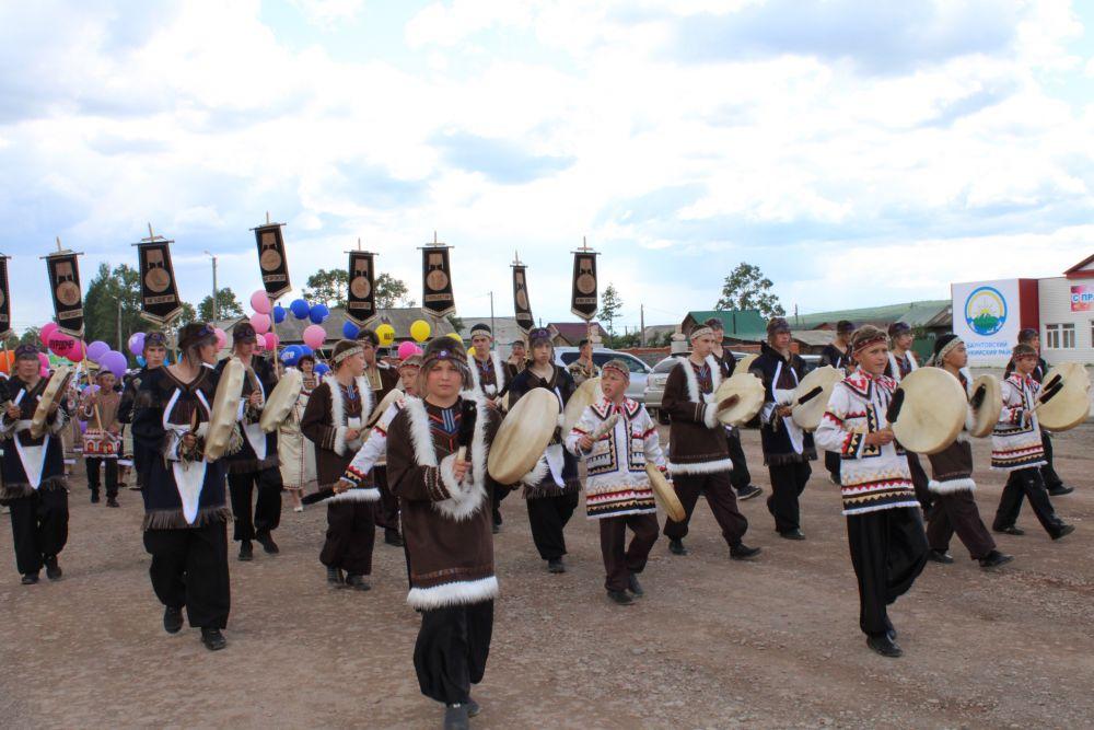 Национальный эвенкийский праздник Больдёр прошёл 29 июня в селе Багдарин в Баунтовском районе Бурятии.