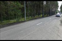 Ребенок переходил дорогу в неположенном месте