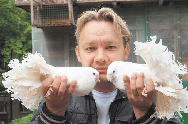 У Михаила Фирсакова живут несколько почтовых голубей. Он запускает их из разных районов Москвы, и они всегда находят дорогу домой, в своё родное Коньково.