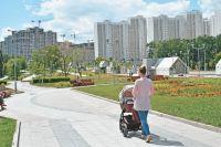 Этим летом в Солнцеве проходят работы по благоустройству дворов и детских площадок.