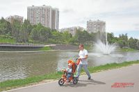 Верхний Качаловский пруд– одно из любимых мест дляпрогулок в районе.