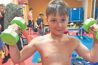 Мастер спорта по дзюдо 12-летний Егор Васин в скором времени тоже собирается выступить на соревнованиях.