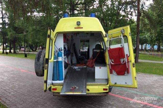 В Оренбурге в больницу доставлен мужчина с переломом основания черепа.