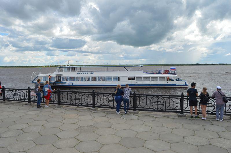 Прогулочный теплоход «Москва»