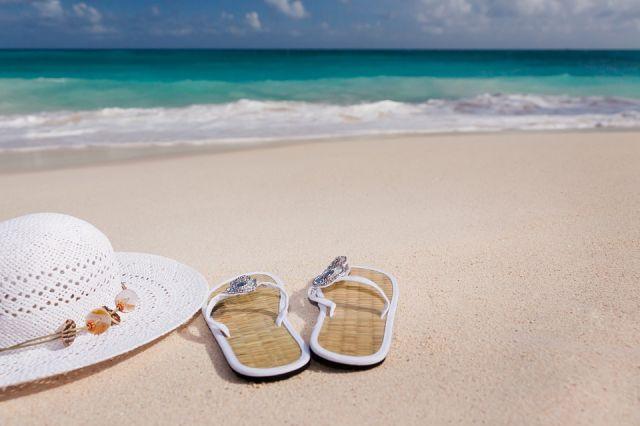Туктамышева и Тарасова отдыхают на пляже во Флориде