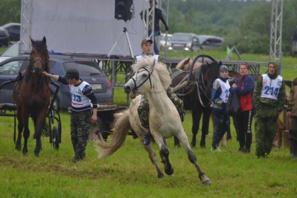 Конные скачки - одна из традиций праздника.