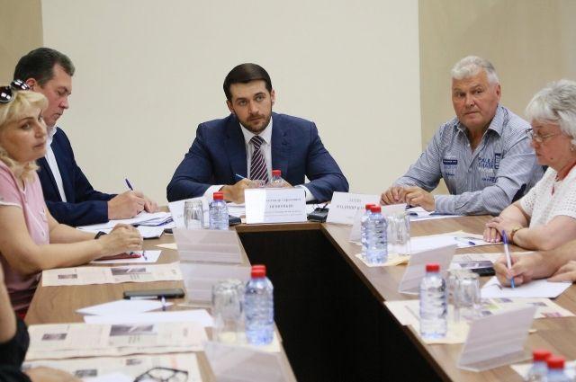 Заседание попечителей фонда Александра Прокопьева