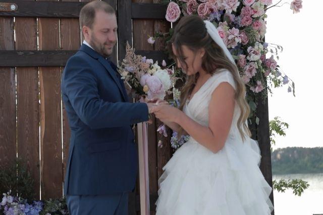 Надежда и Андрей стали участниками программы «Четыре свадьбы».