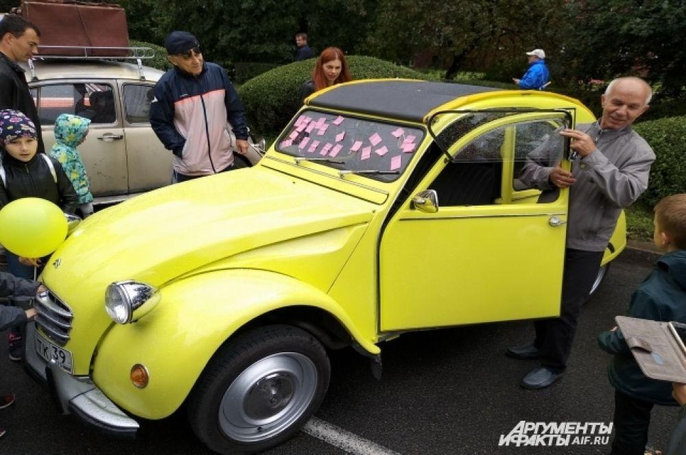 Ретро-автомобили неизменно популярны.