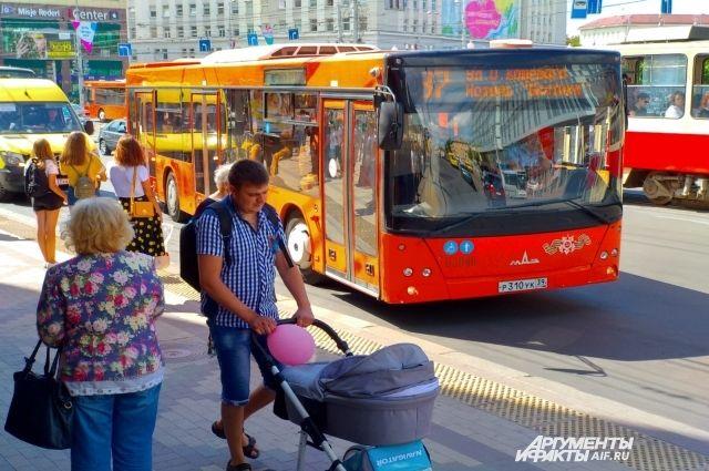 Городские автобусы оснастят валидаторами до 15 июля.