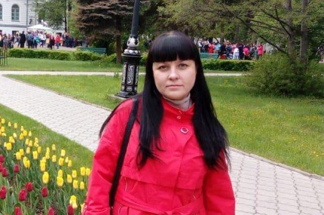 Елена Нестеренко находится на позднем сроке беременности.