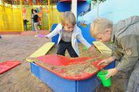 Песочница – отличное место для общения.