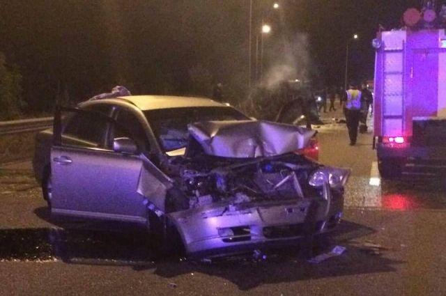 Дорожно-транспортное происшествие с участием автомобиля военных случилось в Киевской области.