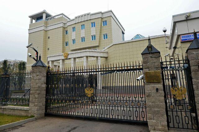 здание посольства России в Минске