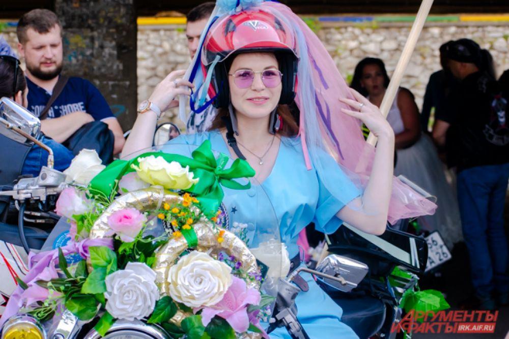 С 2015 года его организует мотоциклистка и свадебный организатор Татьяна Карканица.