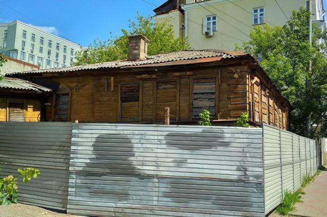 Жилой дом первой четверти XIX века обещают сохранить, даже построив рядом шестиэтажный отель.