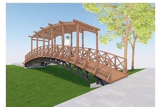 В парке имени Мичурина в Сыктывкаре появятся декоративный мост, а также там установят габионы.